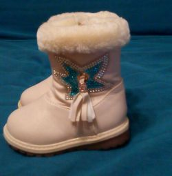 Μπότες ζεστό 21 νέο μέγεθος