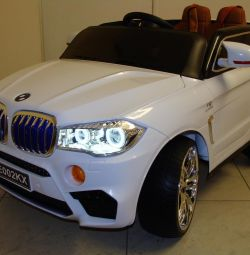 Дитячий електромобіль BMW X5М E002KX Білий