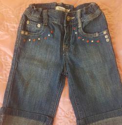 Jeans. Size 80 cm