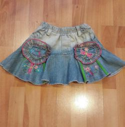 Παιδική φούστα τζιν