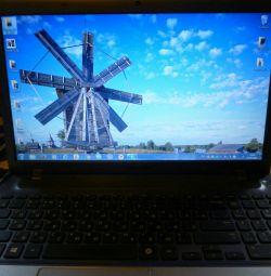 A laptop. Samsung