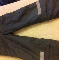 Pantaloni de 28 de ori pe nuanțe gri închis pentru toamnă