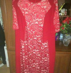 Платье гипюровое 58 раз