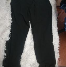 Pantolonlar çocuklara yeni