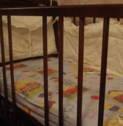 Baby cot Mozhga with mattress