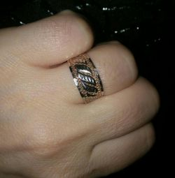Gold ring. Size 18.0