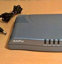 AddPac AP200B VoiceFinder IP Telefon Geçidi - VoIP