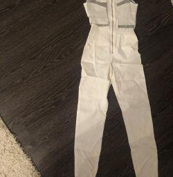 jumpsuit summer white