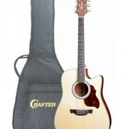 Guitar CRAFTER-8 / N + case