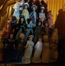 Κούκλες από πορσελάνη
