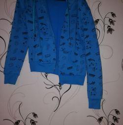 Jacket on the fleece