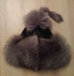 Χειμερινό καπέλο γούνας