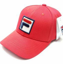 Baseball cap Fila cap (red)