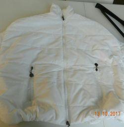 Νέο γυναικείο μπουφάν για το φθινόπωρο. Ασυνήθιστη περικοπή