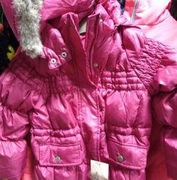 Jachetă în jos nou p104