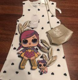 Lol φόρεμα με μια τσάντα