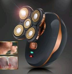 Electro shaver 3D, unisex. New.