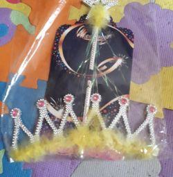 Seturi cadou pentru fete (coroane, benzi)