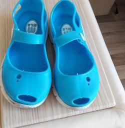 Rubber shoes r. 24, insole 14.5 cm