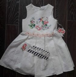 Φόρεμα + επίδεσμο κομψό ποτάμι 92-88