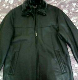 Jacket-sheepskin coat