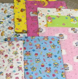 New calico diapers