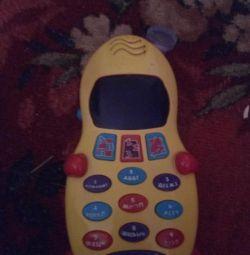 Детский развивающий телефон