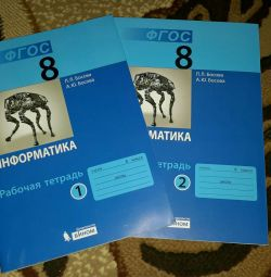 New workbooks for computer science class 8