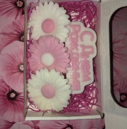 Happy birthday handmade soap