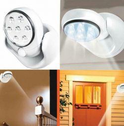 Датчик движения светильник, лампа