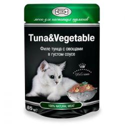 Влажный корм Gina для кошек и котят