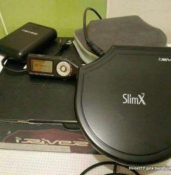 slim iRiver iMP-900 δέκτη FM