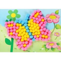 Application of fluffy balls