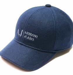 AJ Armani Jeans capac din lână de baseball