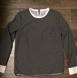 Polka dot bluză