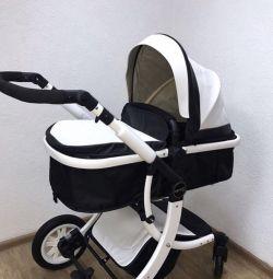 Baby carriage New transformer 2v1