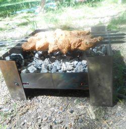 folding BBQ
