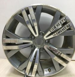 Alloy wheel R18 Volkswagen Passat B8 oem 3G0601025bk (scuffed) (cl-3)