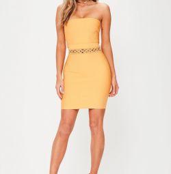 Бандажное платье Missguided новое, размер XL
