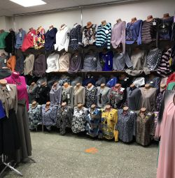 Blouses and blouses up to size 60