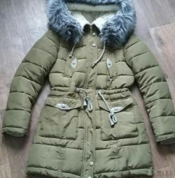 Down jacket parka