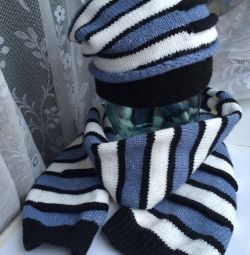Set hat + scarf