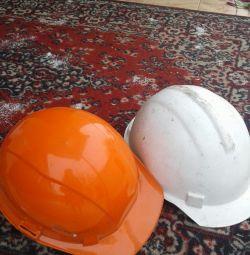 Helmet working