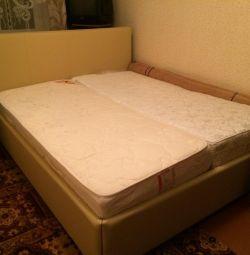 Διπλό κρεβάτι Ormatek 160x200
