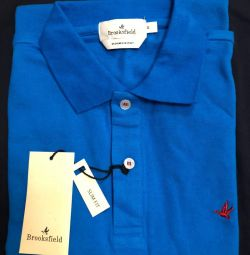 polo Brooksfield export Italy blue M, L, XL