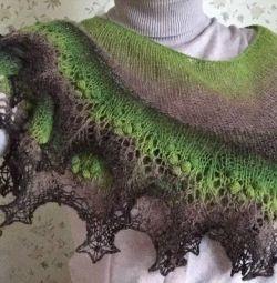 Handmade shawl cape