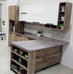 Loft-style kitchen Plastic / enamel