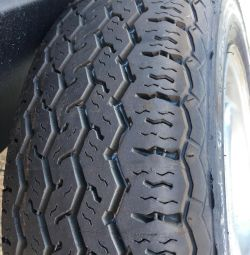 New summer tires with wheels 175 70 R 13