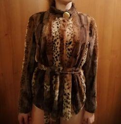 Faux γούνα παλτό