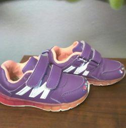 Αθλητικά παπούτσια για το κορίτσι p27